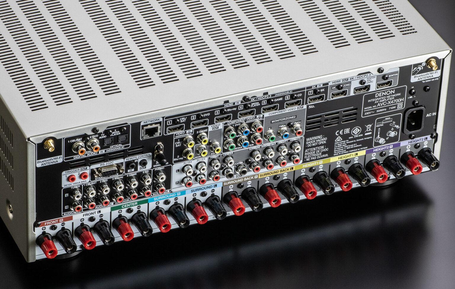 Vyplatí se zvolit nový standard HDMI 2.1?, Denon Store